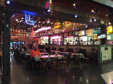 Inside Portillo's.