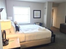InterContinental Hotel room.