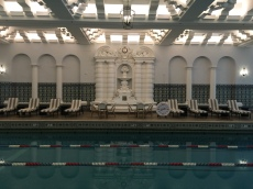 Pool at the InterContinental.
