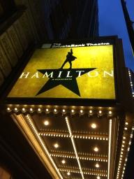 Hamilton marquee