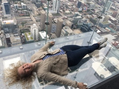 The Ledge at Skydeck atop Willis (Sears) Tower