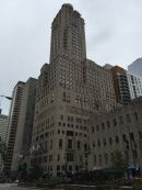 InterContinental Hotel view from Michigan Avenue.